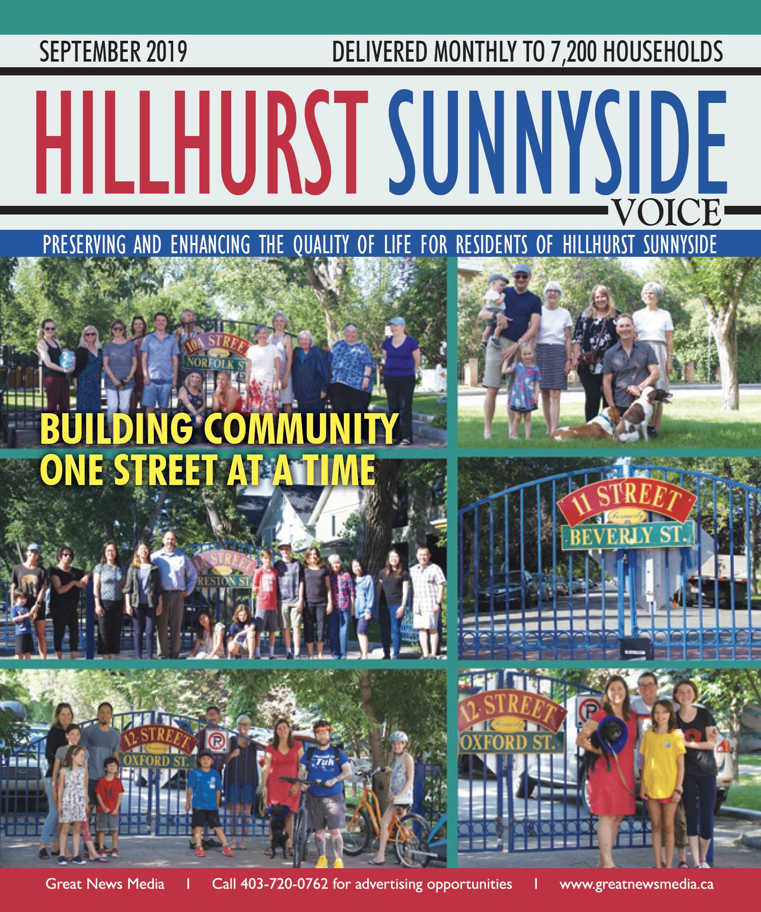 The Hillhurst Sunnyside VOICE, September 2019 Edition
