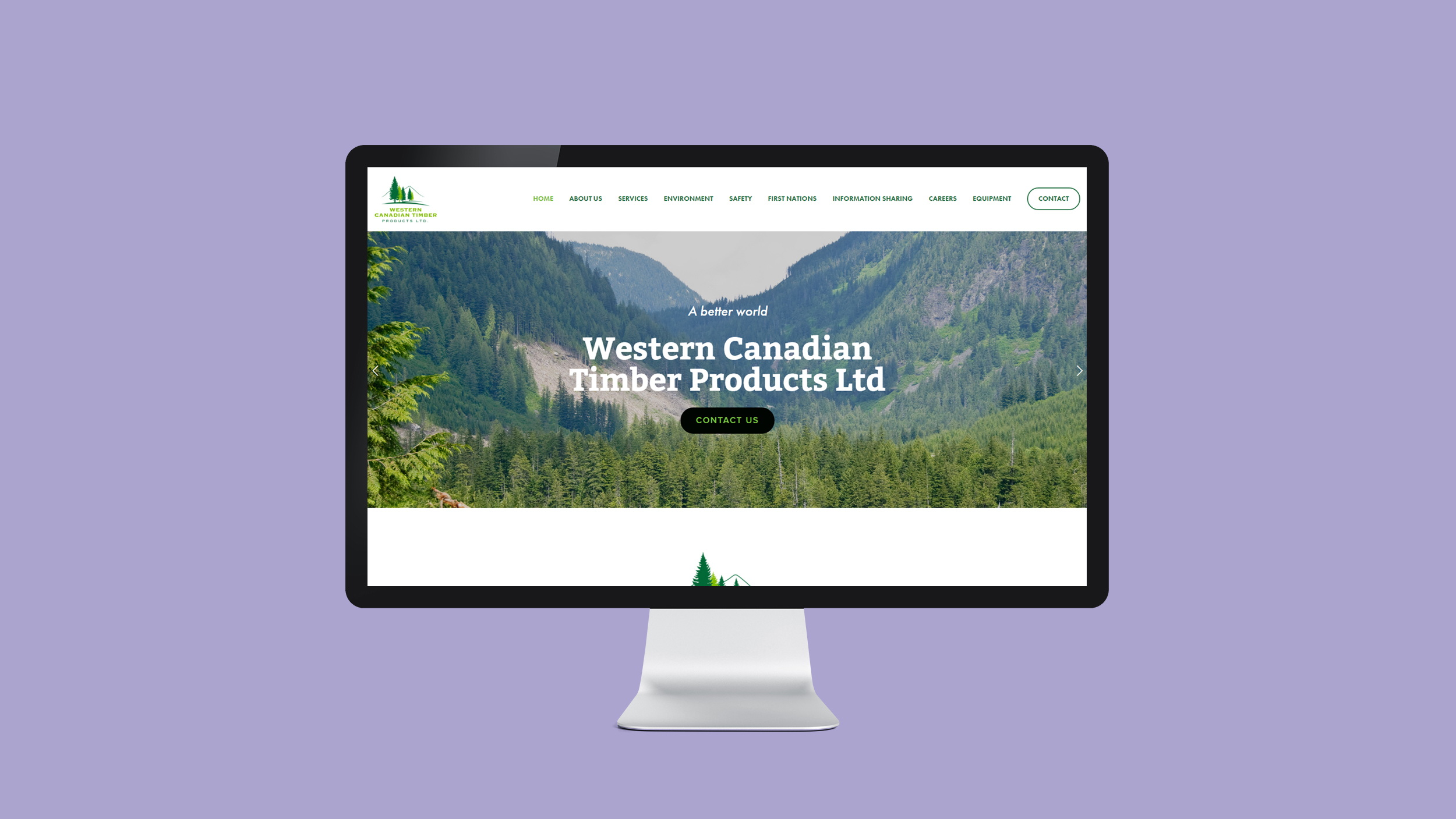 Western Canadian Timber Products Ltd.   wctp.ca  - Copyright © 2012-2017 460 Communications Inc. All rights reserved.  This design is intended strictly for portfolio use only and cannot be reproduced in any way with out written consent from 460 Communications Inc.
