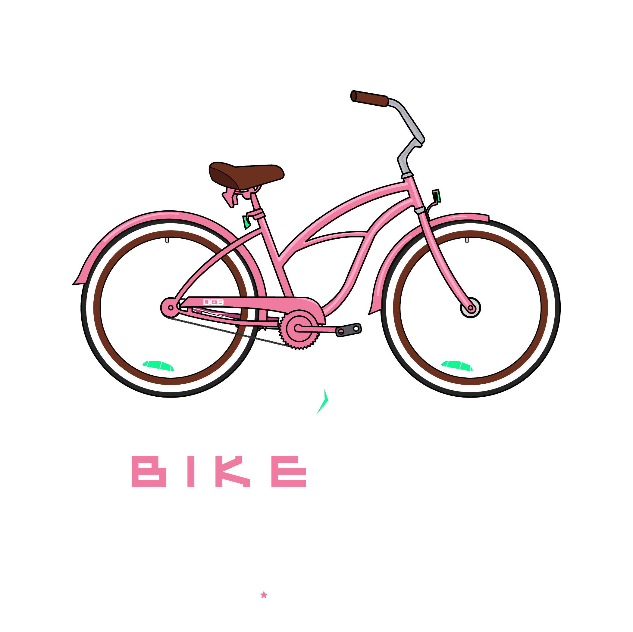 Bike Life Cruiser Pink Flamingo.png
