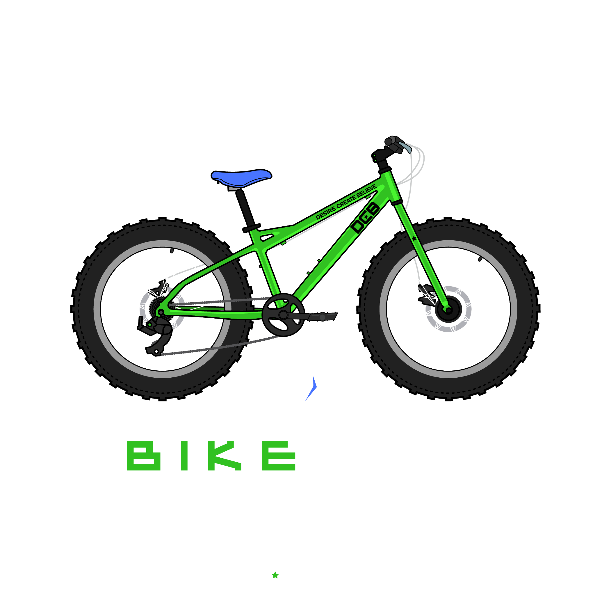Bike Life Fatbike Green Bear.png