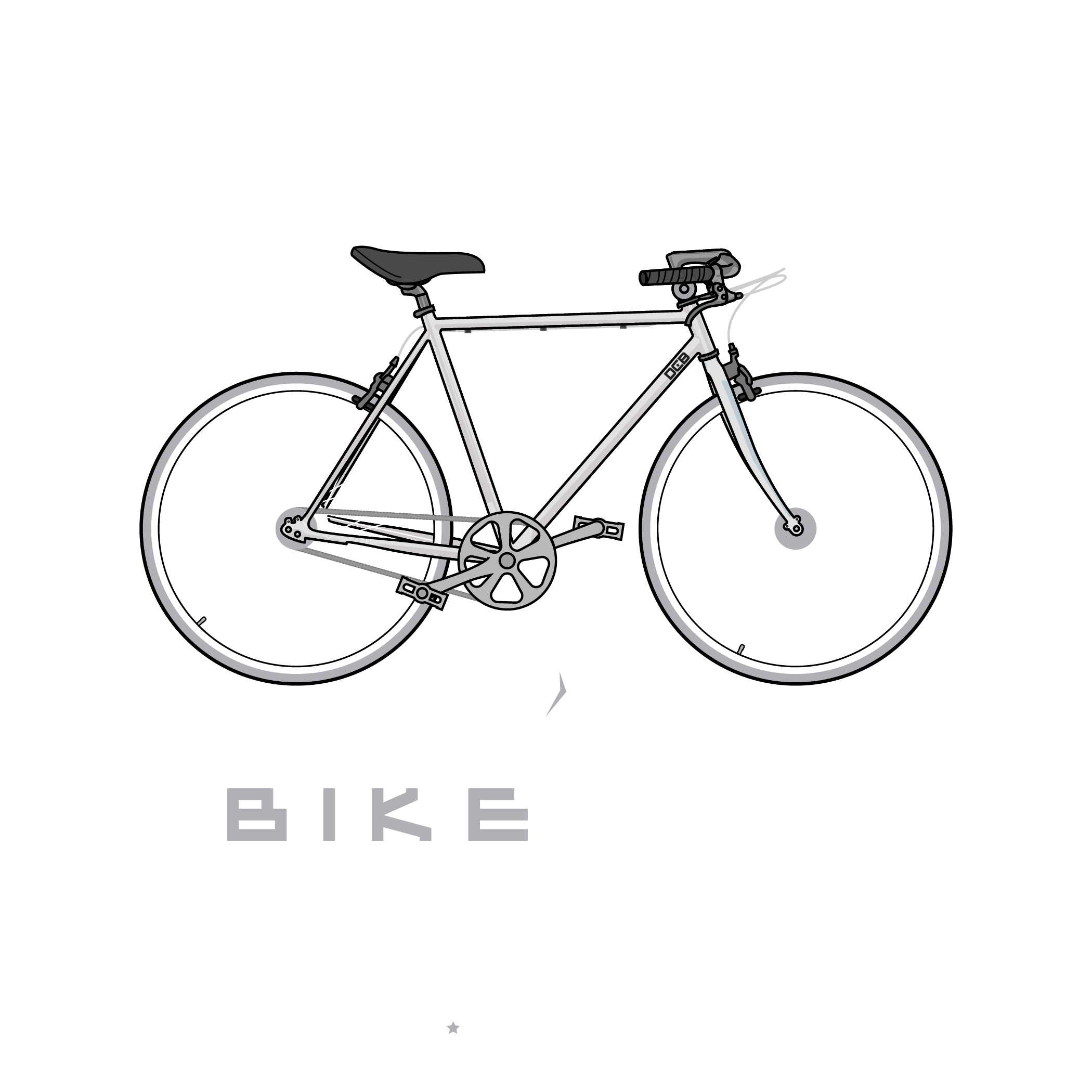 Bike Life Fixie Silver Back.png