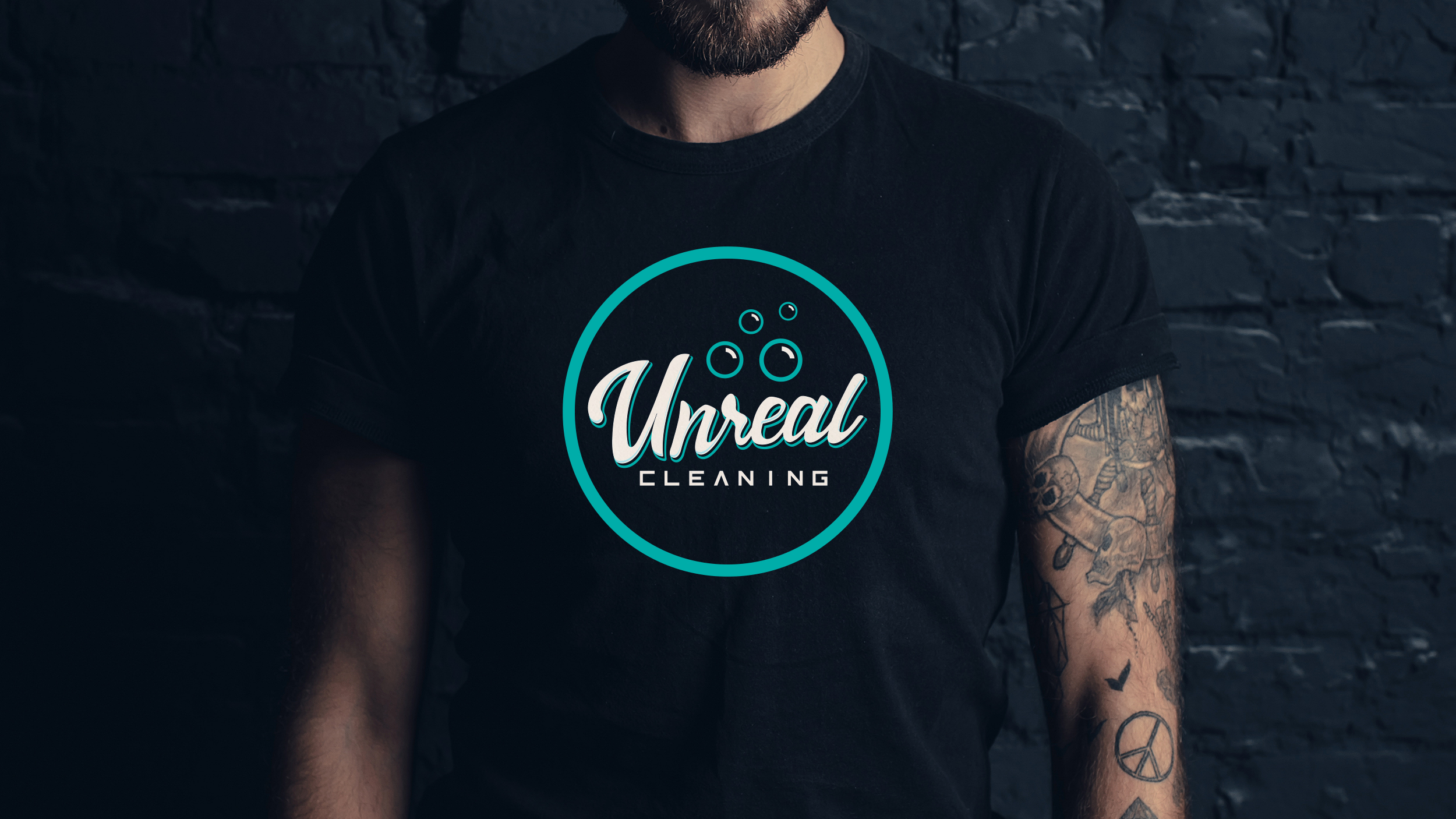 Unreal Cleaning T-Shirt Design  Copyright © Afro Boy Productions. All rights reserved.