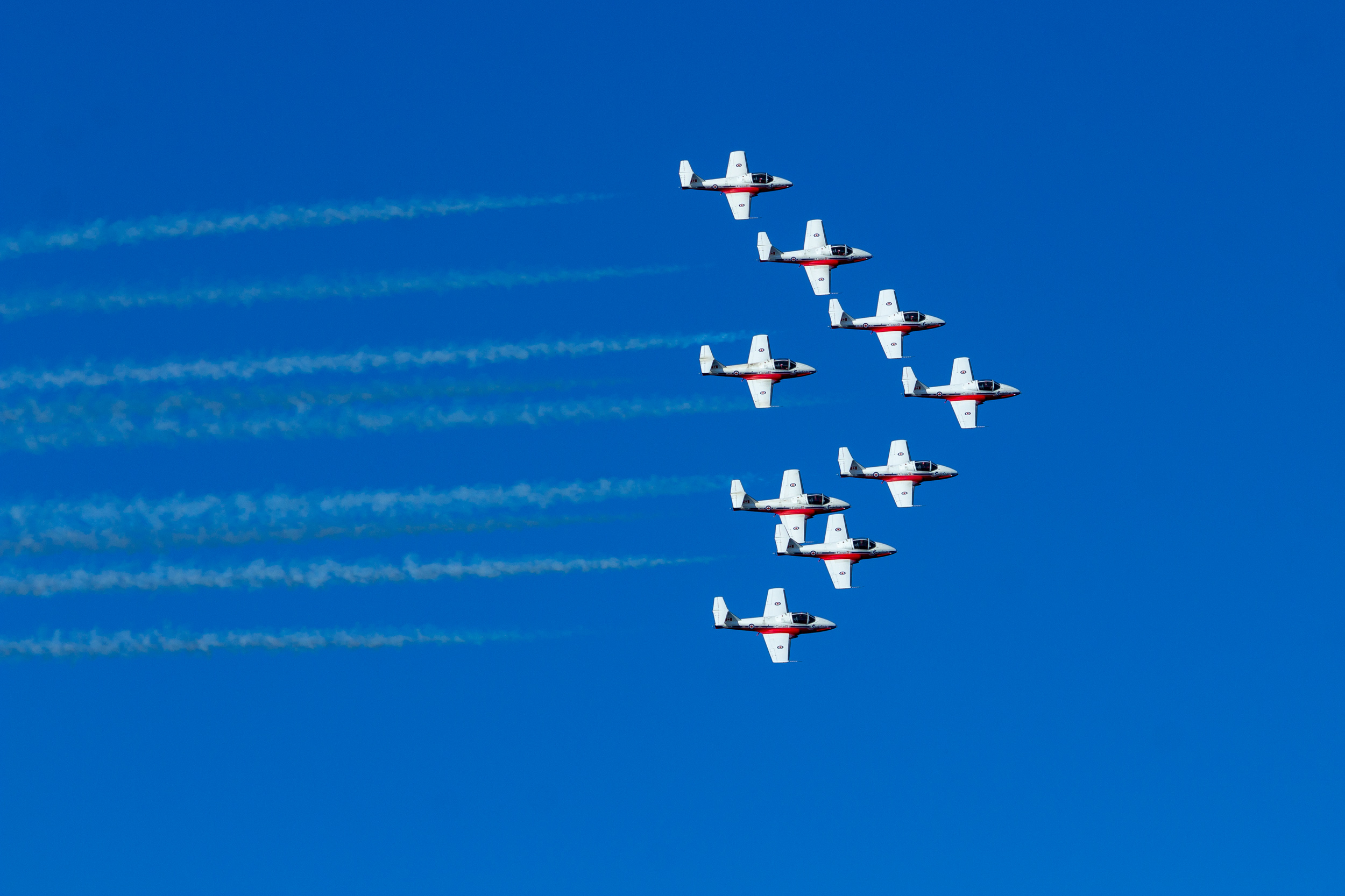 RCAF Snowbirds 2018 - Nanaimo, BC  Copyright © Afro Boy Productions. All rights reserved.