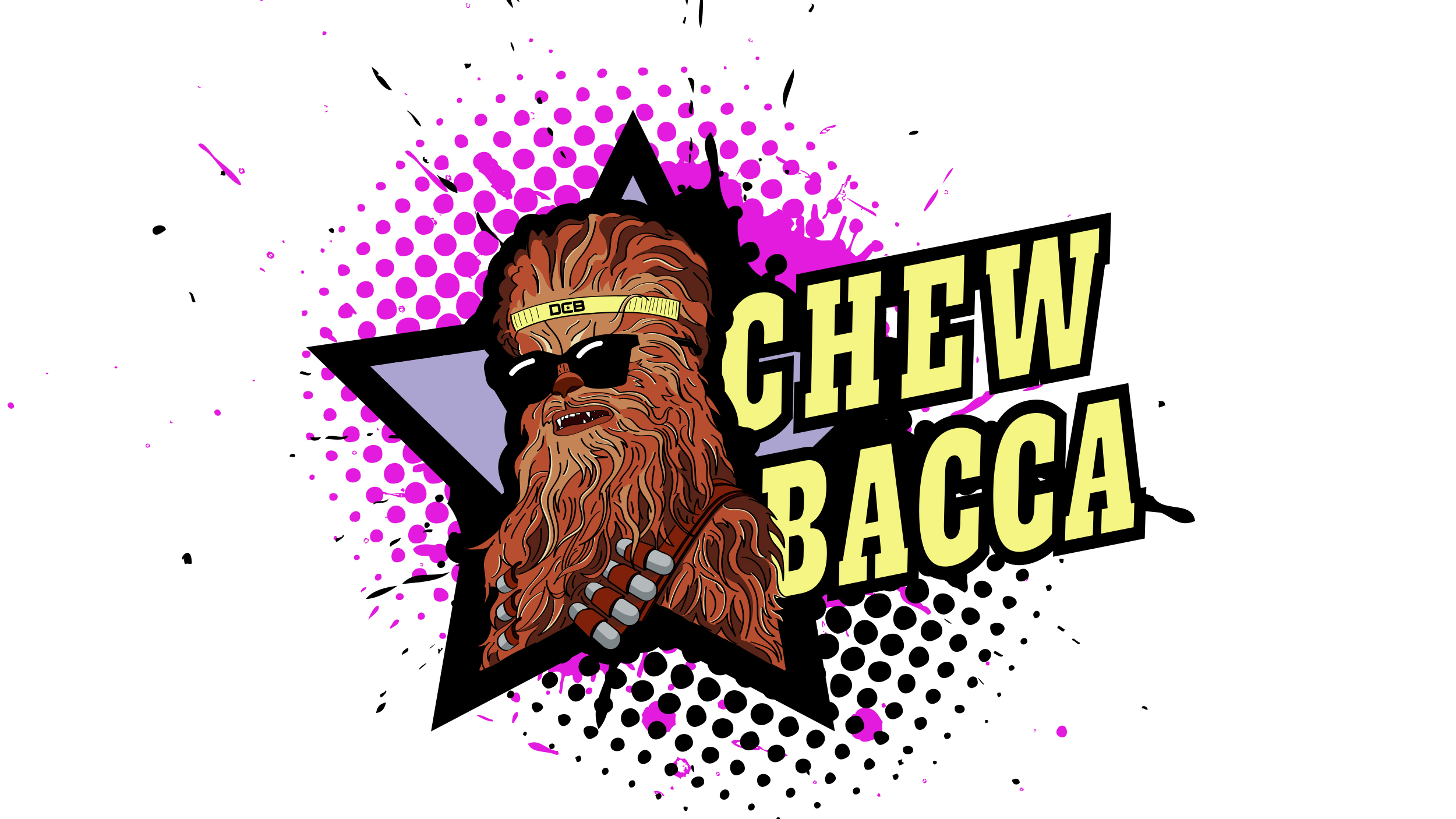 Chewbacca  Copyright © Afro Boy Productions. All rights reserved. ·  Illustrator