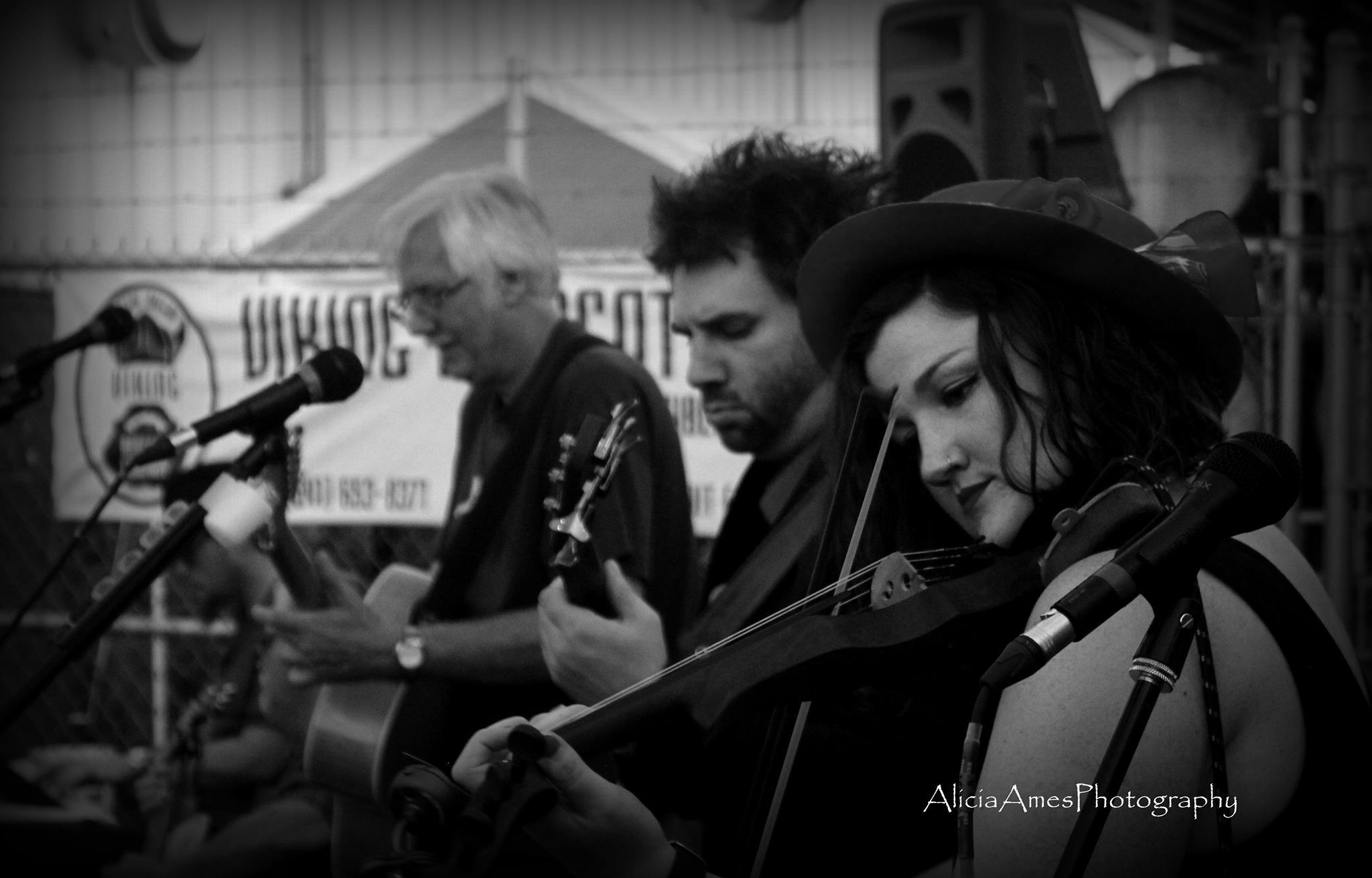 Steve, Ben & Ruth at Viking Braggot, September 2016