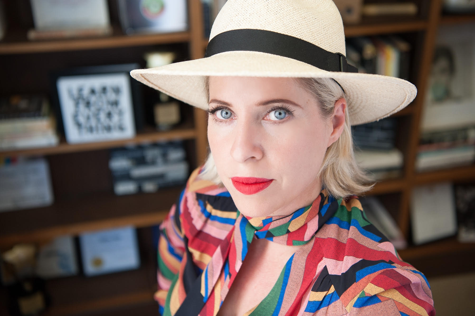 """TIFFANY SHLAIN,  FILMMAKER    @TIFFANYSHLA  IN    Tiffany Shlain is an Emmy-nominated filmmaker, founder of The Webby Awards and co-founder of 50/50 Day. Her new film """"50/50: Rethinking the Past, Present & Future of Women + Power"""" is the launching point for a 50/50 Day, global day of screenings and discussions on the importance of a more gender balanced world. Tiffany's films and work have received over 80 awards and distinctions including a Disruptive Innovation Award from Tribeca Film Festival and NPR's list of best commencement speeches. Four of her films have premiered at Sundance, The US State Department selected her films for the The American Film Showcase to represent America at embassies around the world. As a speaker, Tiffany has presented at Harvard, NASA, and was the closing speaker for both TEDWomen and TEDMED. Her original series """"The Future Starts Here"""" has received over 40 million views. While Tiffany loves technology, for the last 7 years, she turns off all screens with her family for what they call their technology shabbat."""