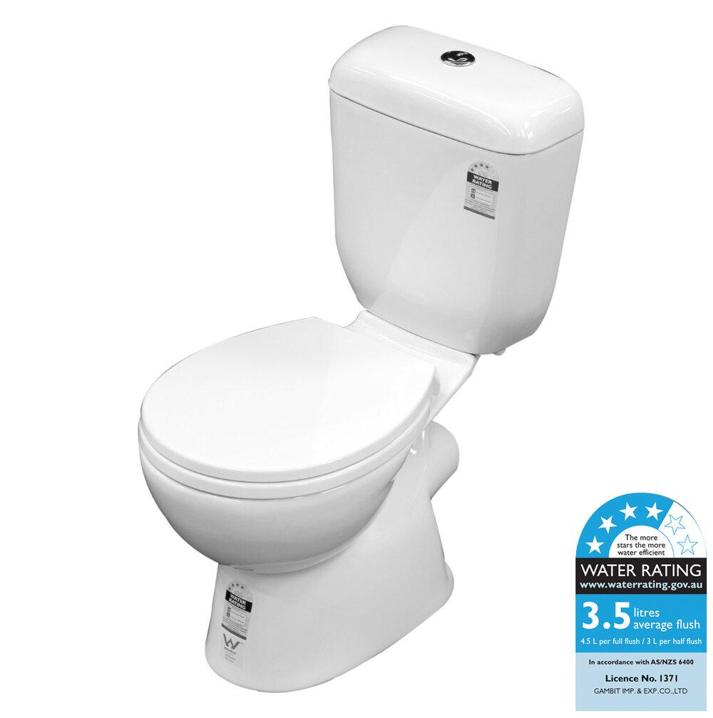 Lucca P Trap C Toilet Suite