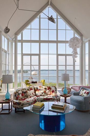 Shelter Island:  Living Room, View 2