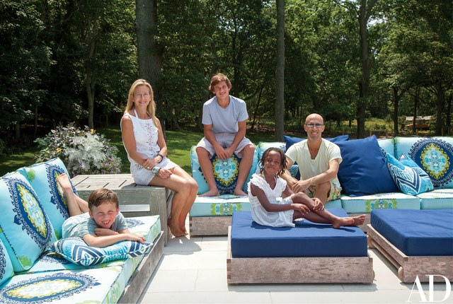 Shelter Island Beach House:  Outdoor Living Space