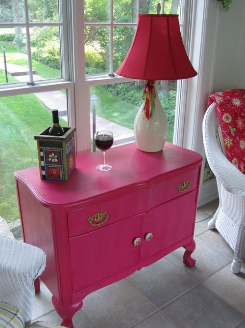 Hot Pink:  Table
