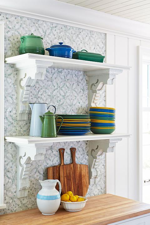 The pretty kitchen details..