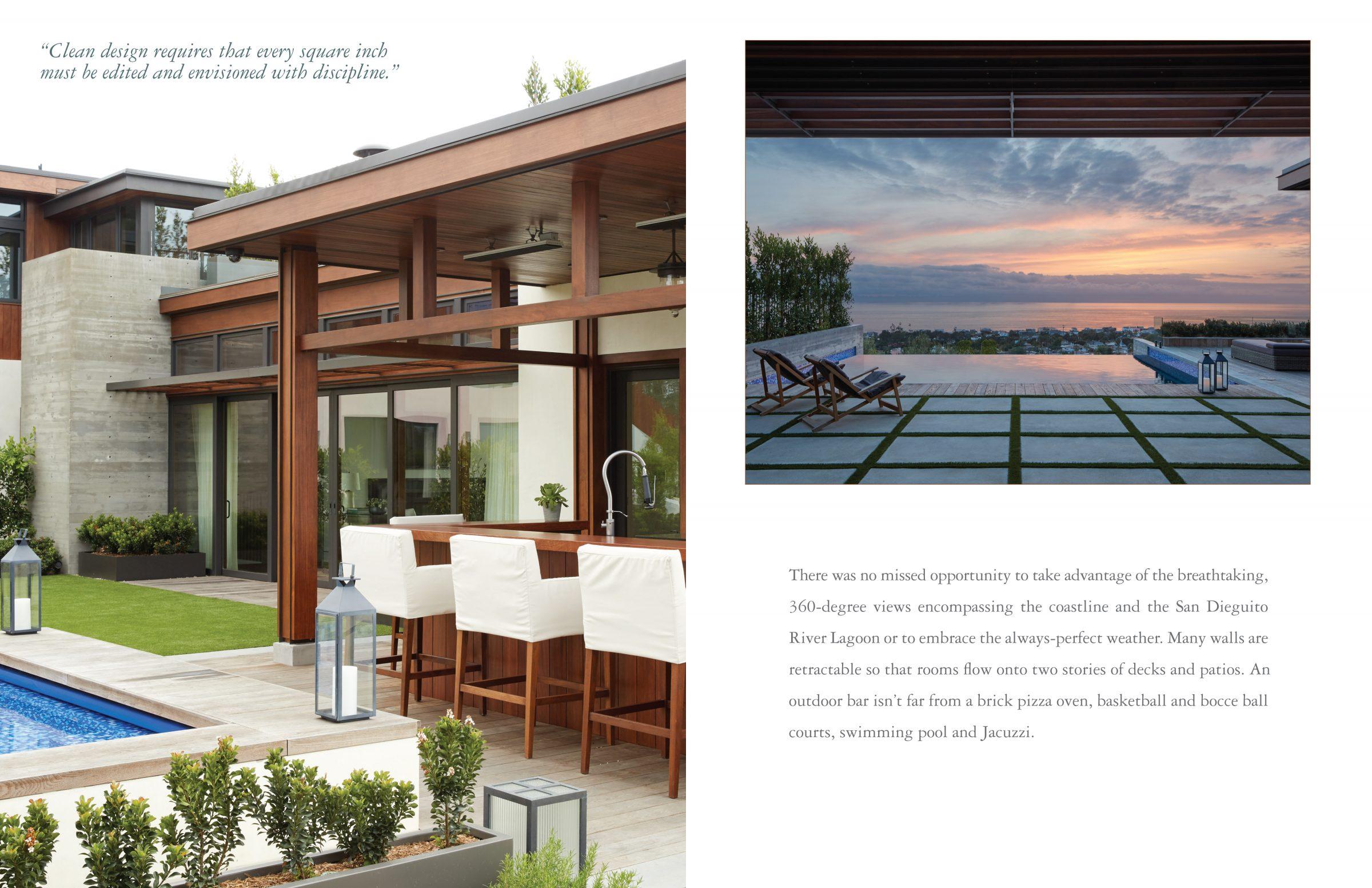 Beach Pretty Style: The Seaside House by Mark J. Williams..Take a TourA gorgeous view of the   San Dieguito River Lagoon