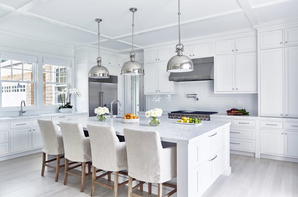 Beach Pretty: Perfection in White and Stainless Steel