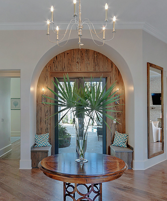 I love this foyer, it reminds me of Old Florida,, timeless.
