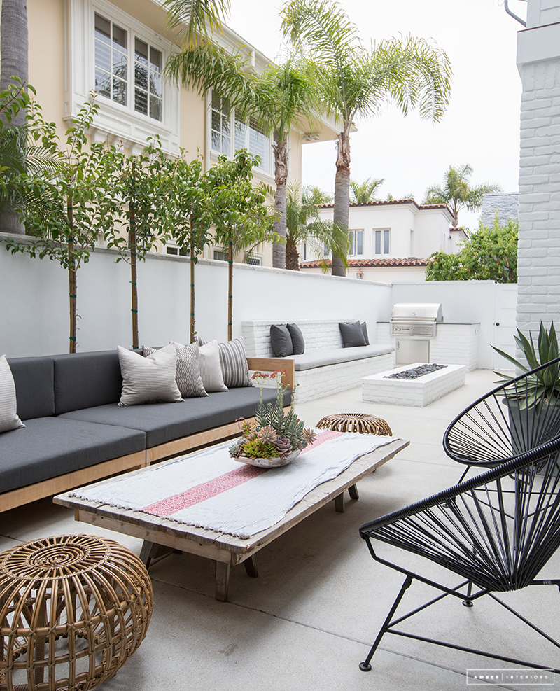 Outdoor living in Southern California