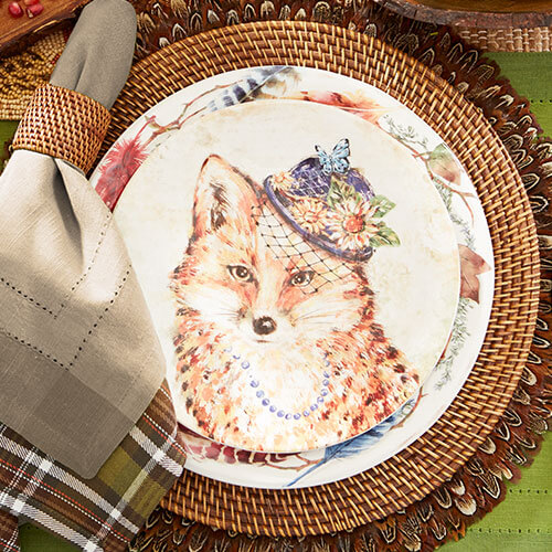 Forest Walk Tablescape