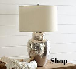 Pierce Lamp Base