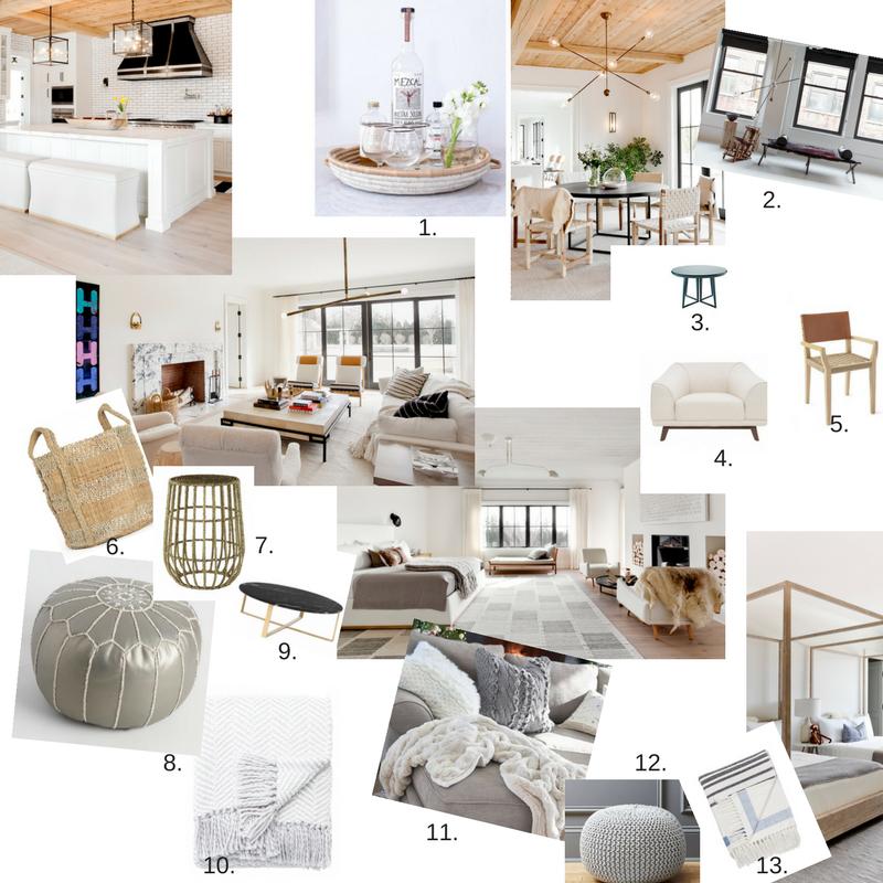 Contemporary House in the Hampton's Inspiration Board