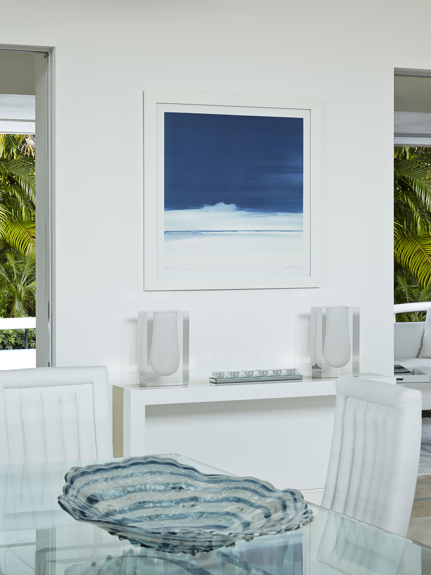 All White Modern Florida House Tour 5 jpg