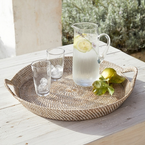 1. - For effortless hosting, choose serving tray's that can be put on the table and shared around by guests. Shop