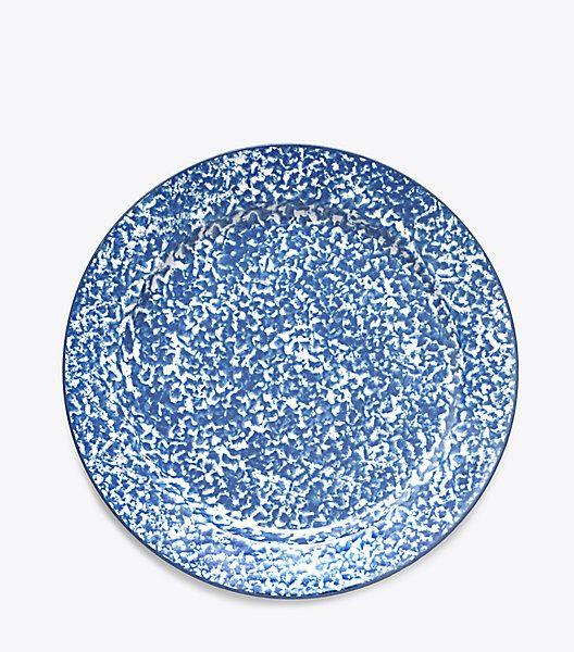 Spongeware Dinner Plates