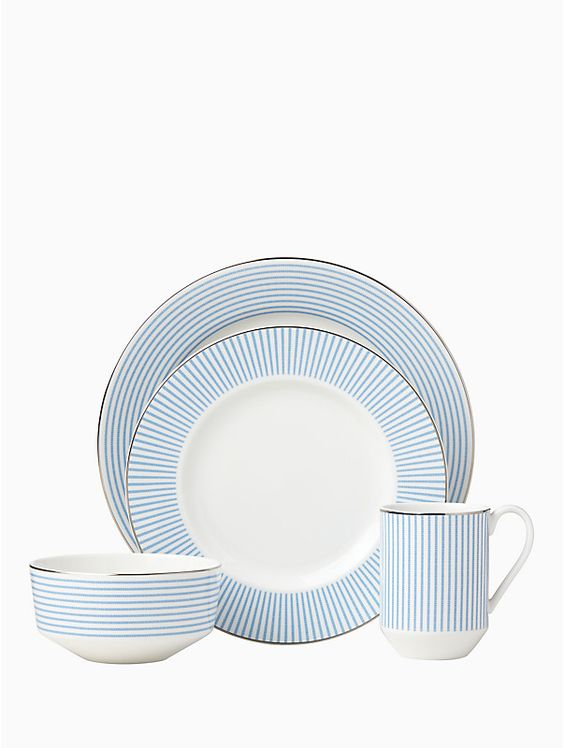 Laurel Street 4 Piece Place Setting by Kate Spade