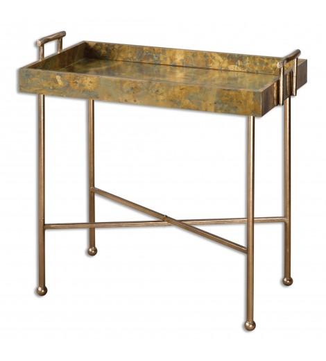 Binah Tray Table, Copper