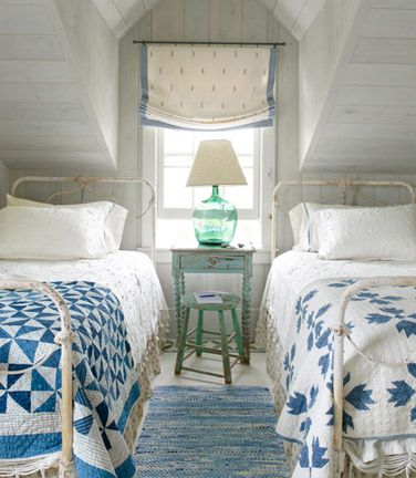 Beach Pretty House Style-Cottage Bedrooms 10.jpg