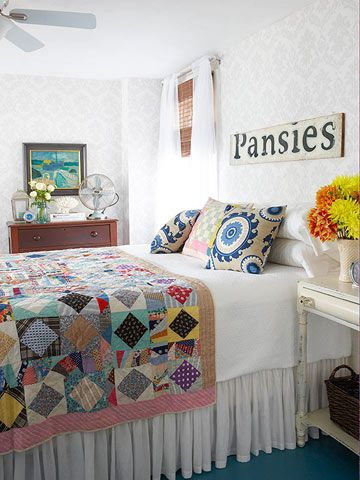Beach Pretty House Style-Cottage Bedrooms 25.jpg