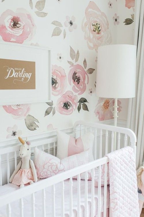 Beach Pretty House Style-Creating Designer worthy Nurserys with Colorful Wallpaper 1.jpg