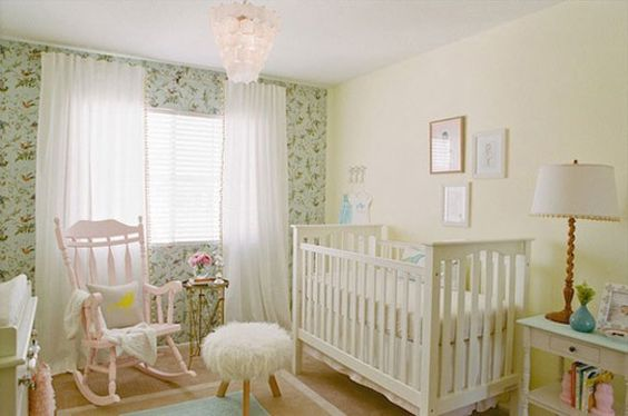 Beach Pretty House Style-Creating Designer worthy Nurserys with Colorful Wallpaper 3.jpg