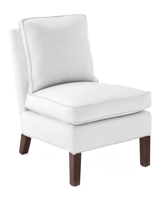 White Living Room Chair