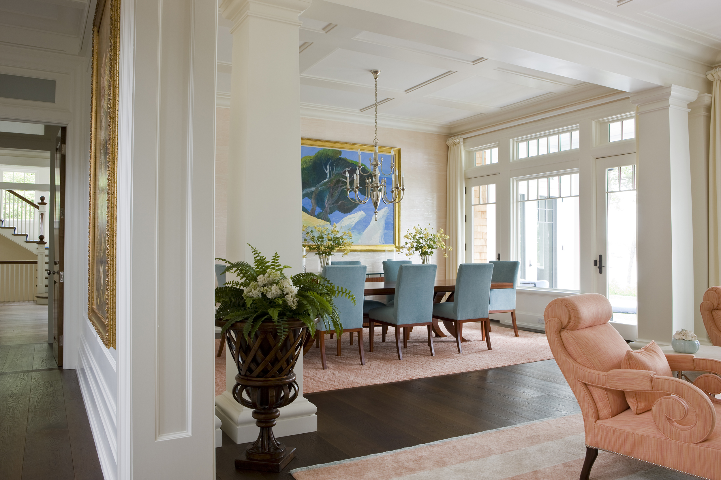 Another stunning room, the detail in this room is exquisite.