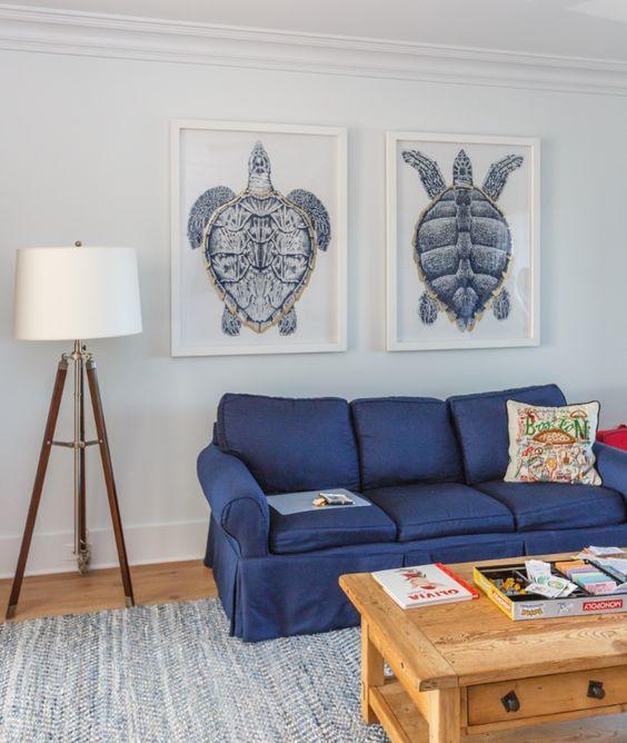 Family Room-Beach House-Escape into the Blue by Interior Designer Lauren Leonard.jpg