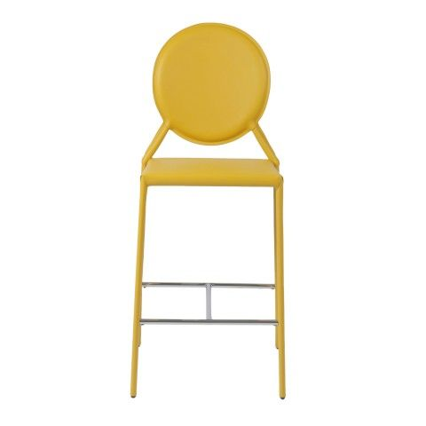Yellow Counter Chair