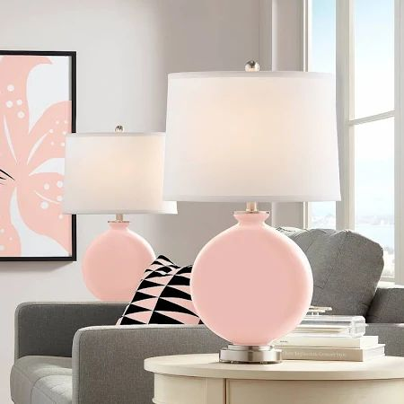 Rose Pink Table Lamp