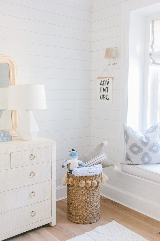 Such a precious boy's nursery from  Monika Hibbs