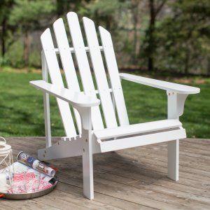 White Adironack Chairs