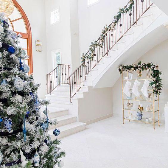 Blue Christmas.. via