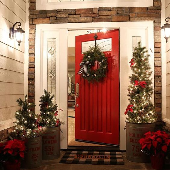 Something about a red door…love!  via