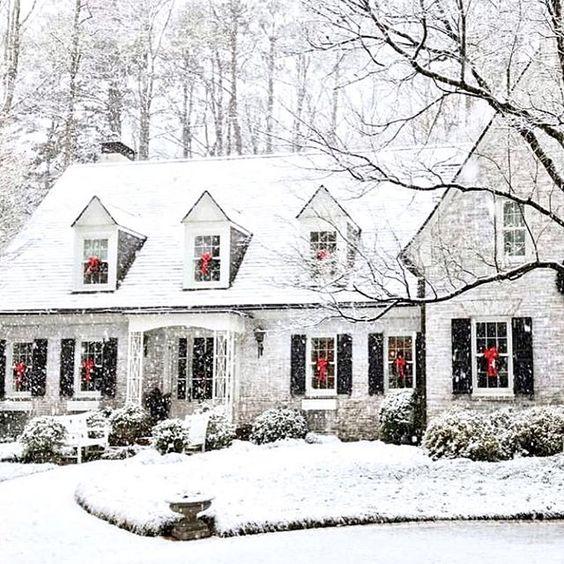 - White Christmas…via