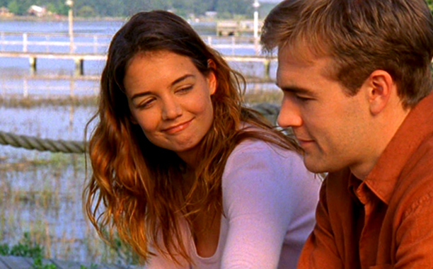 """I probably do not have to introduce them, Joey (Katie Holmes) and Dawson (James Van Der Beek), of """"Dawson's Creek"""", were definitely in a lot of our living rooms during the late 90's and early 2000's. A family show that my daughter still watches on reruns along with the t.v. show """"Friends"""". I loved the whole cast as well."""