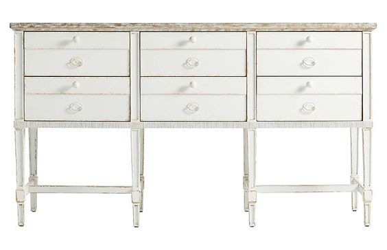White Washed Sideboard