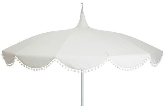 Pom-Pom Umbrella
