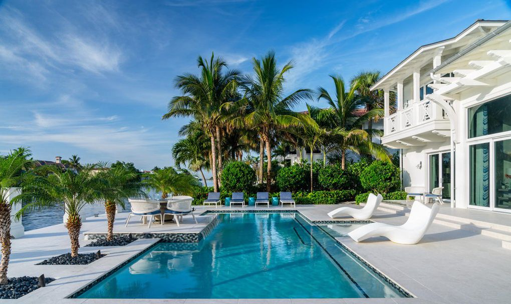 - 1200 Royal Palm Way is a newly built Key West flawless estate with direct Intracoastal access that captures the essence of luxurious coastal living.