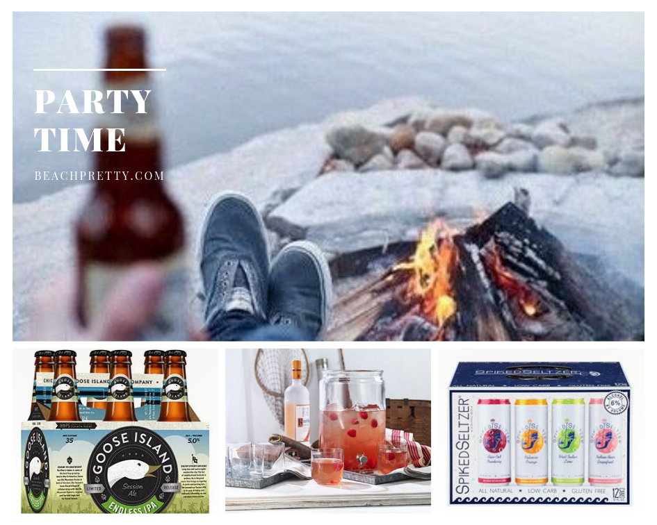 Party Time:  Goose Island IPA |  Dutch Sangria | Spiked Seltzer