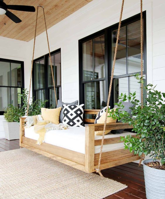 How to build your own porch swing,click  here