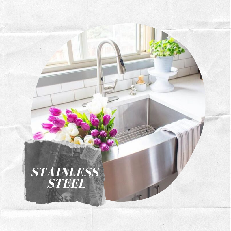 - Their schemes will typically have more straight, defined lines to fit into their industrial setting and capture their contemporary concept. Shop this farmhouse sink.