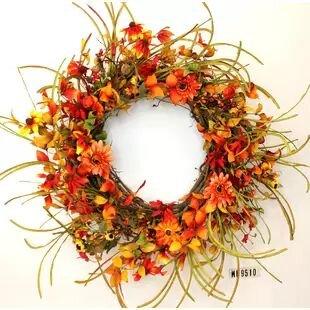 Autumn Silk Wreath