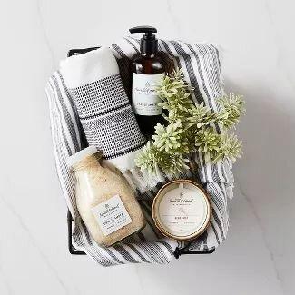 Modern Farmhouse Guest Essentials Basket Collection